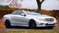 Parked Mercedes