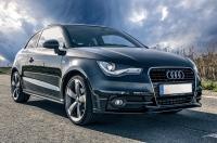 Parked Audi