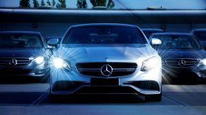 White Mercedes-Benz