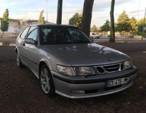 Gray Saab